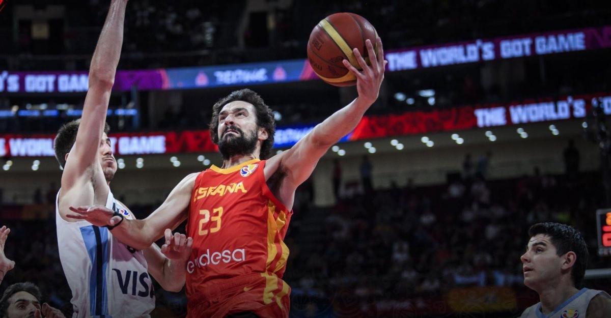 Испанцы во второй раз в истории выиграли ЧМ / фото: fiba.com