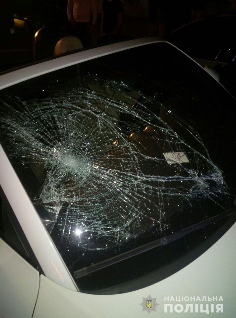 Водитель сбила четырех пешеходов / hk.npu.gov.ua