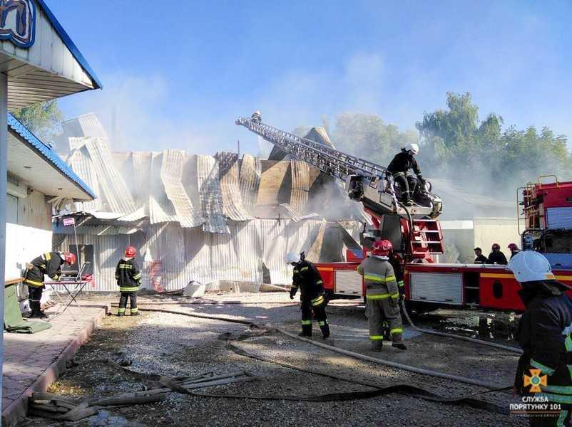 Причина пожежі встановлюється / фото: ГУ ДСНС Тернопільщини