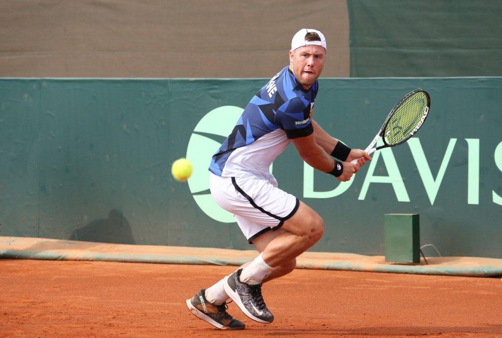 Марченко не справился со своим соперником / фото: tennisua.org