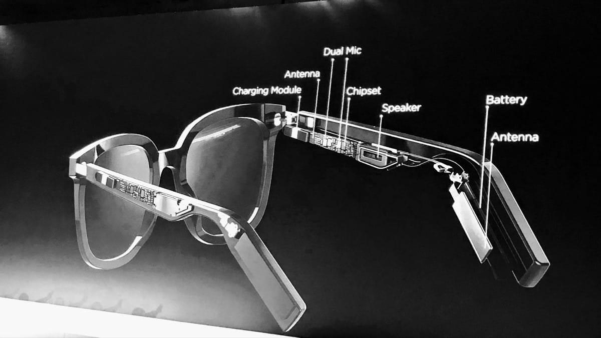 Розумні окуляри можуть працювати тільки через Bluetooth зі смартфоном / akket.com