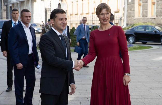 Президент Зеленский и глава Словакии ЗузанаЧапутова/ фото president.gov.ua