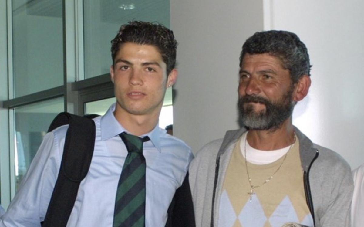 Роналду мало спілкувався зі своїм батьком / фото: A Bola
