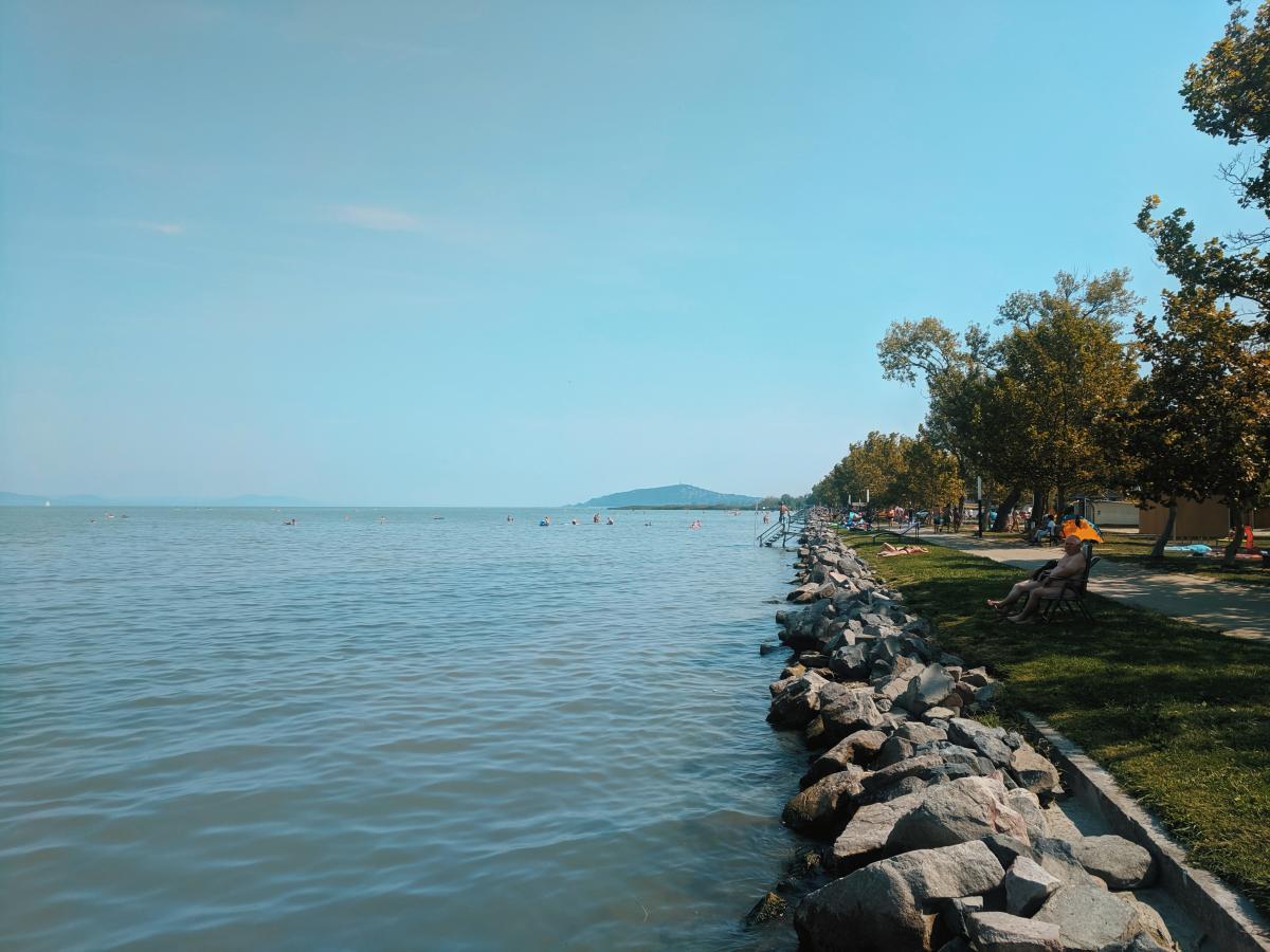 Самое большое озеро Венгрии - Балатон / УНИАН