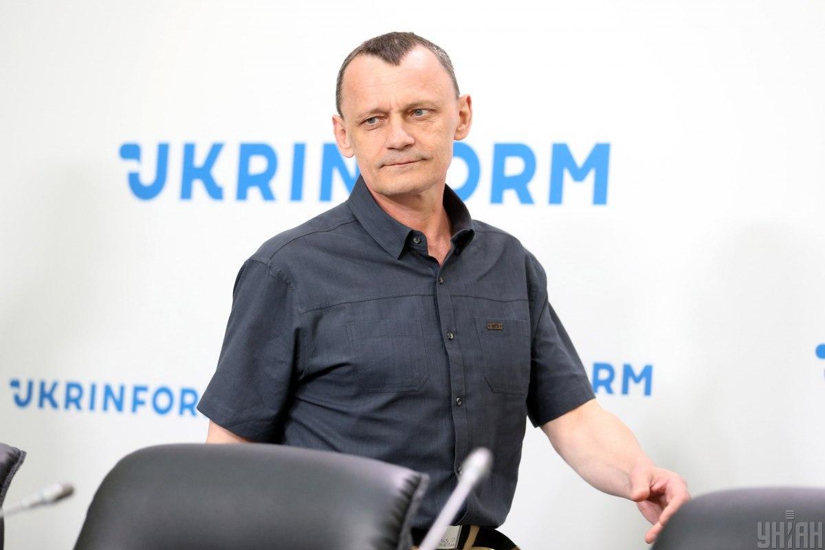 Карпюк отметил важность продолжения борьбы за освобождение всех пленников / фото УНИАН