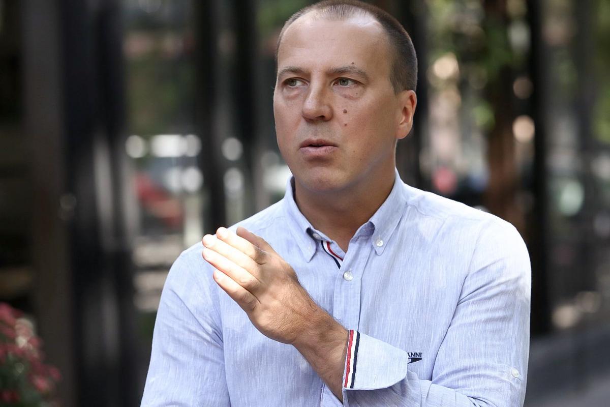 Політичний експерт Максим Карижський