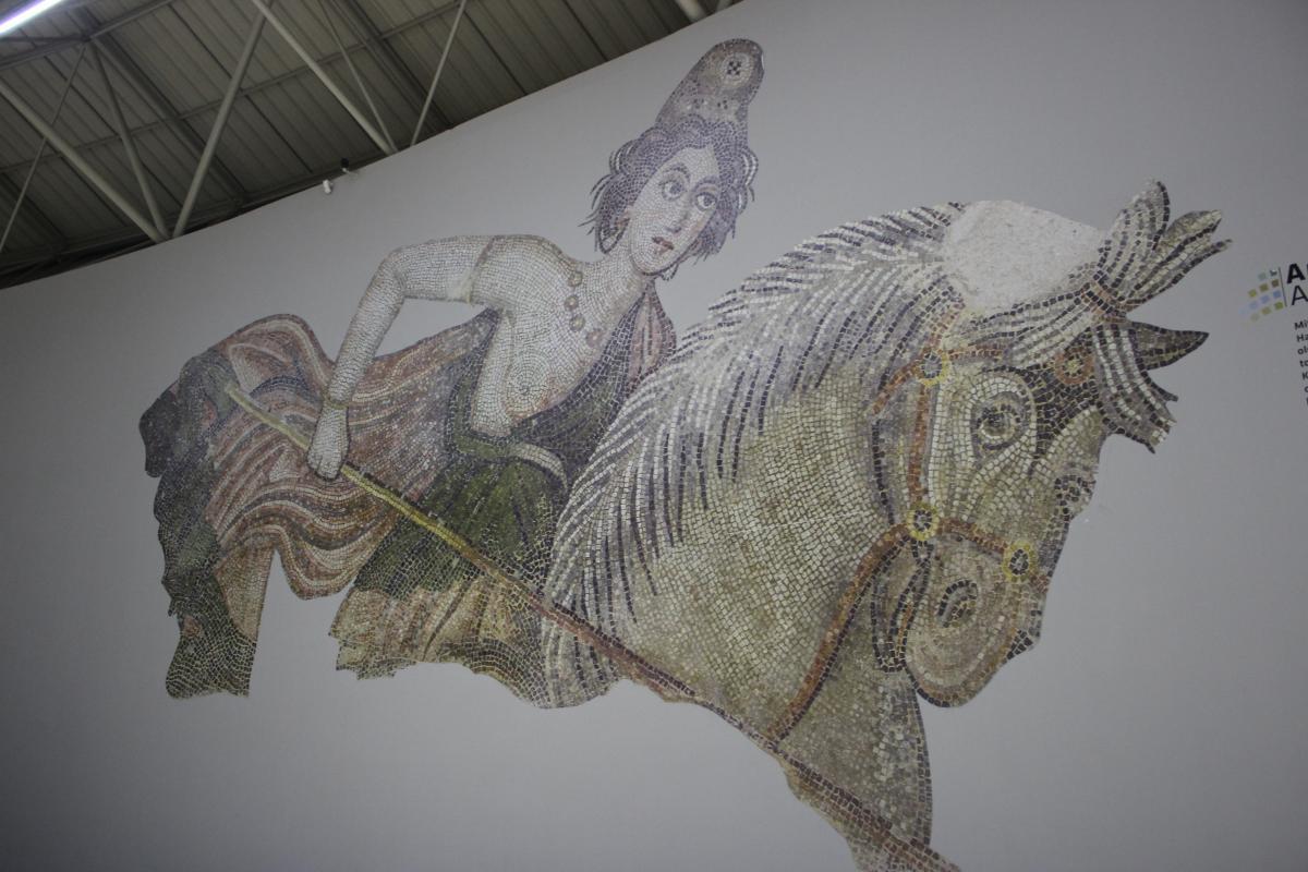Мозаїка в археологічному музеї міста / фото УНІАН