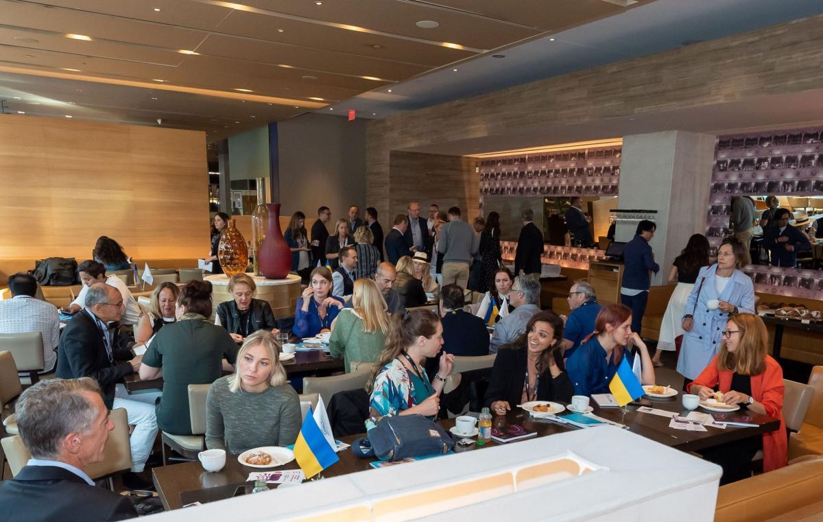 Гости Украинского делового завтрака в Торонто