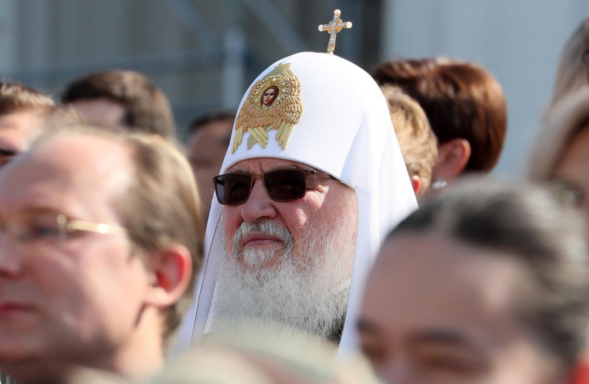 Голова РПЦ Кирил / Фото: REUTERS