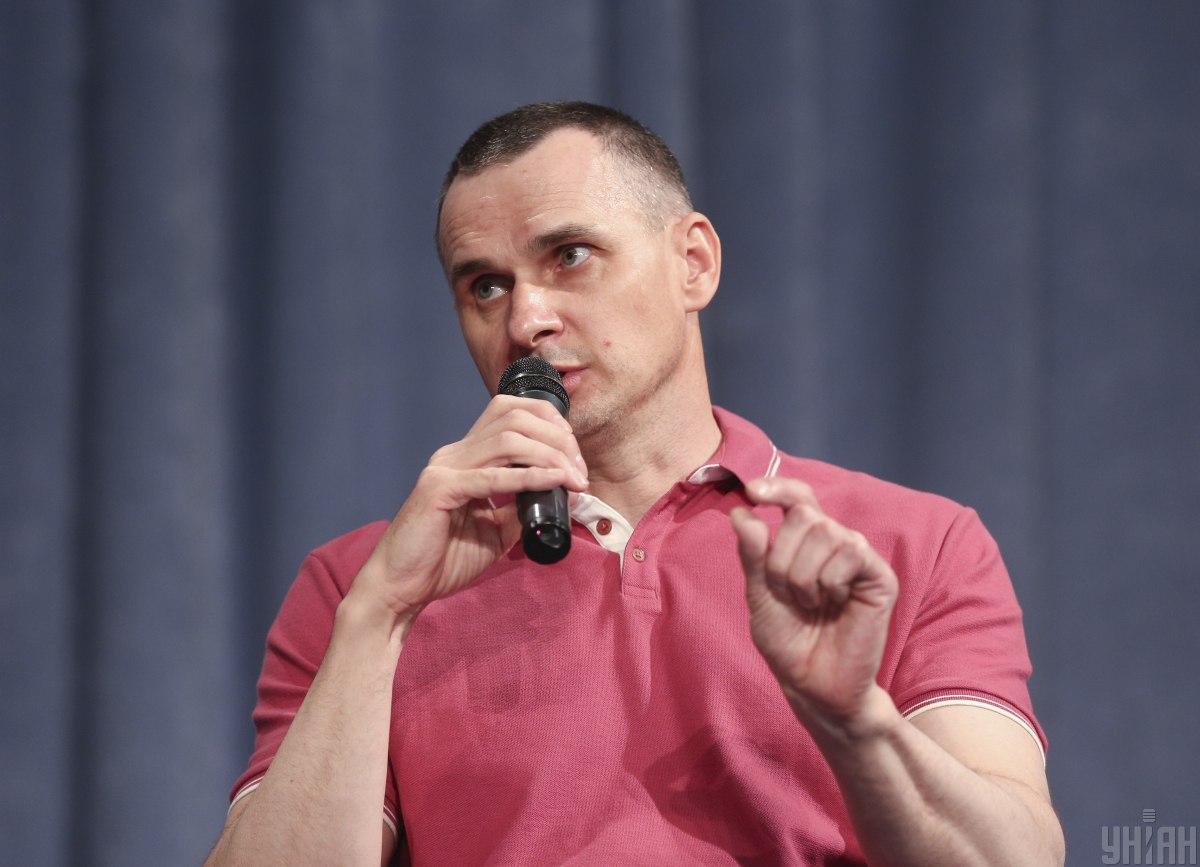 Олег Сенцов объяснил отсутствие интереса к политической деятельности / фото УНИАН