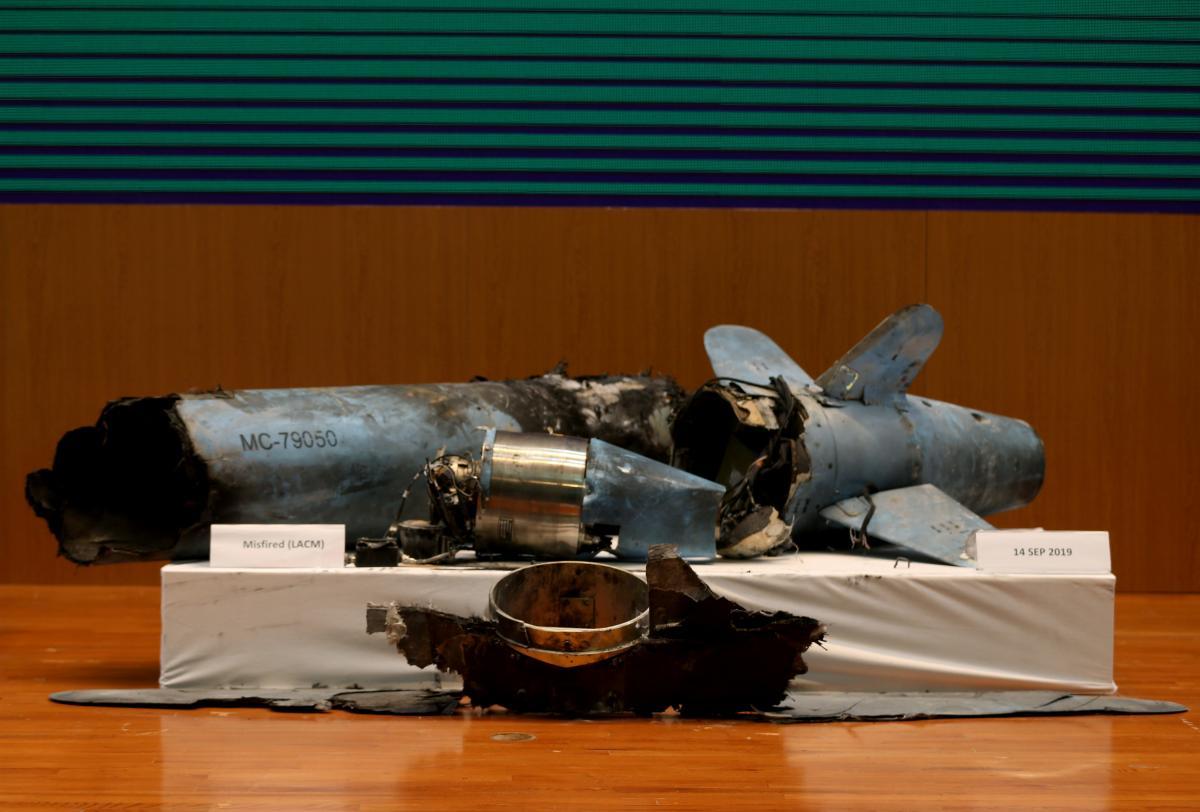 Саудівська Аравія показалауламки дронів і ракет / REUTERS