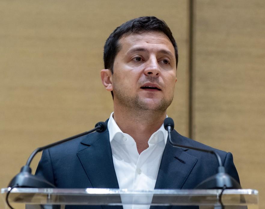 Зеленский провел брифинг / фото president.gov.ua