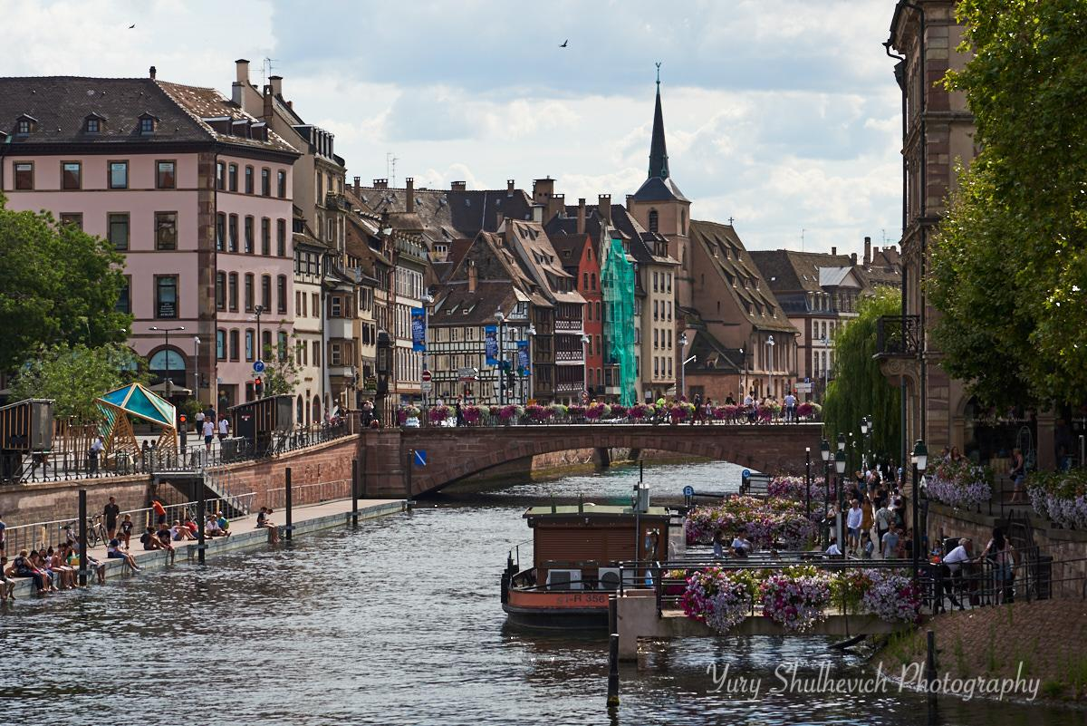 Затишне французьке місто Страсбург / фото Yury Shulhevich