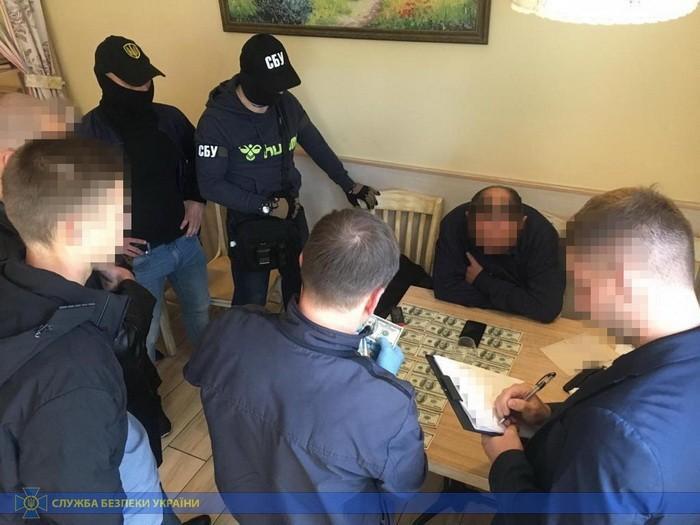 Пока задержан один участник преступной группы/ фото СБУ