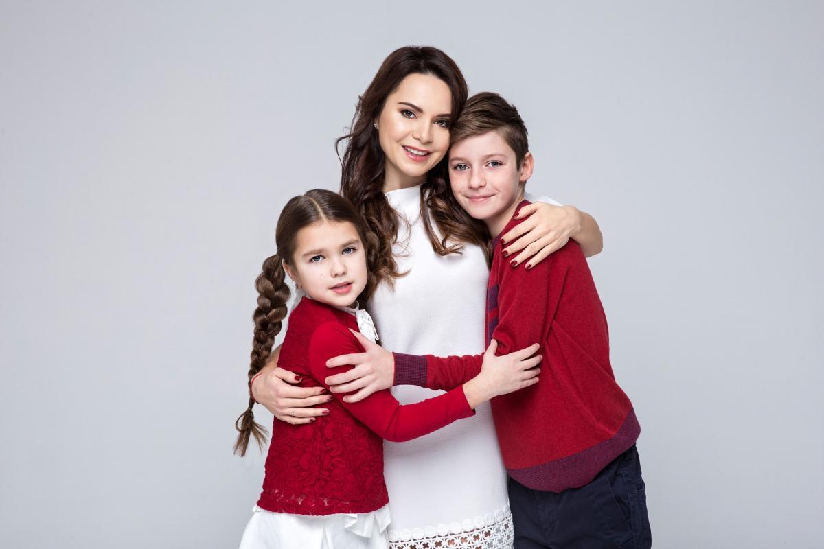 Лілія Подкопаєва уже виховує двох дітей - Вадима і Кароліну / фото facebook.com/lilia.podkopayeva