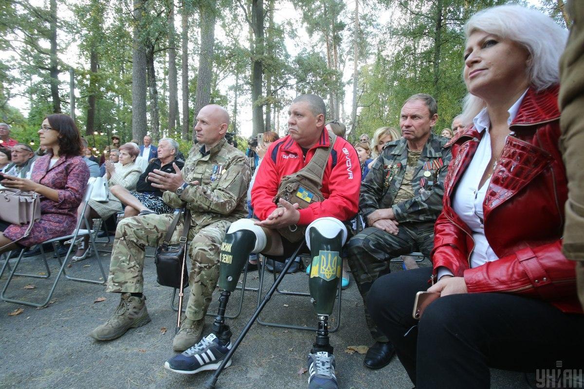 Открытие центра ментального здоровья поддержали сами ветераны войны на Донбассе / УНИАН