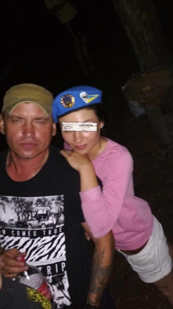 """Вероятная девушка """"взрывника"""" / фото со страницы Алексея Белька в соцсети"""