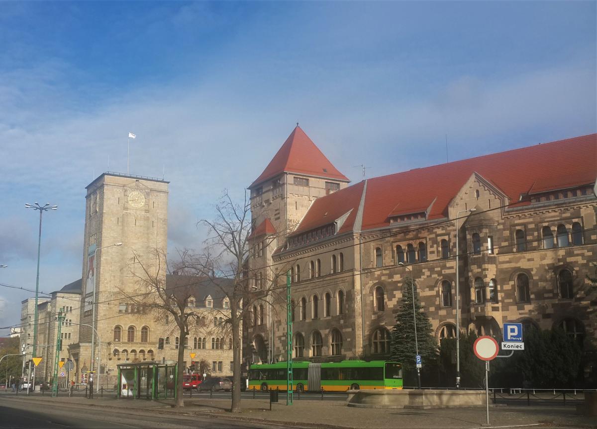 Императорский замок в Познани / Фото Марина Григоренко