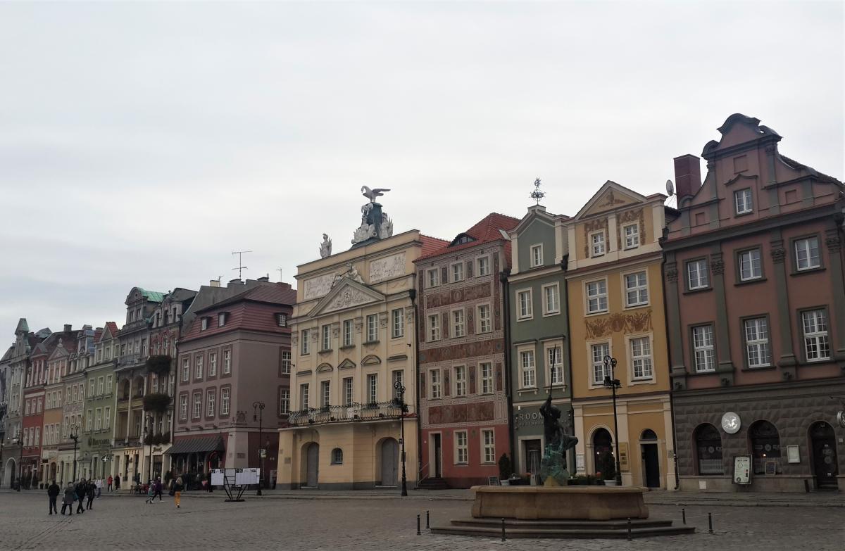 Домики на Рыночной площади в Познани / Фото Марина Григоренко