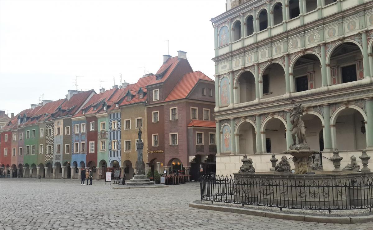 Площадь Старый рынок в Познани / Фото Марина Григоренко