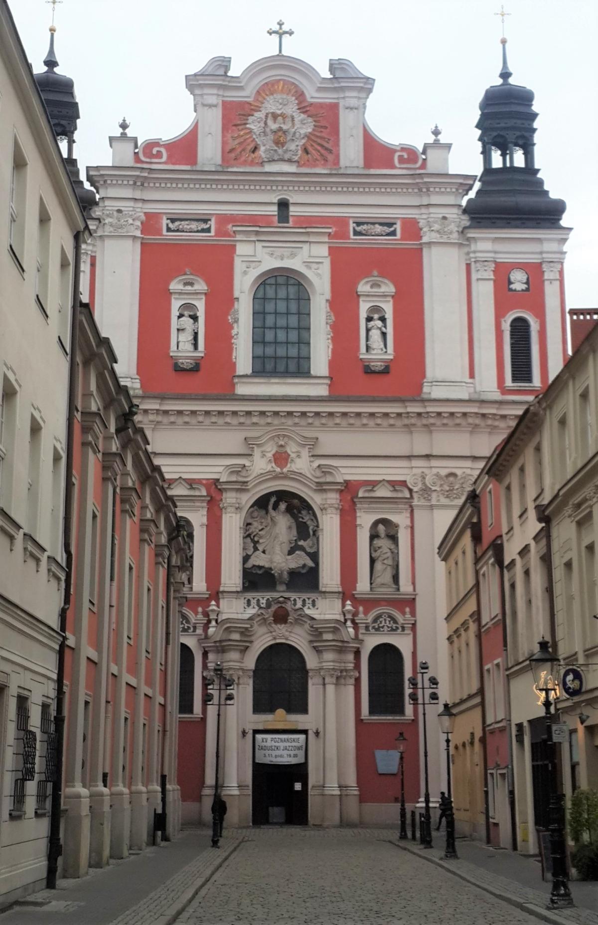 Главный вход в Костел Девы Марии в Познани / Фото Марина Григоренко