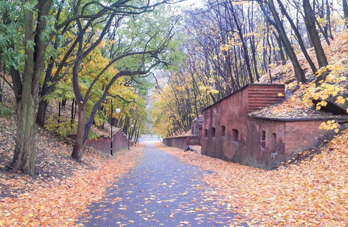 Остатки старого форта Виняры в Познани / Фото Марина Григоренко
