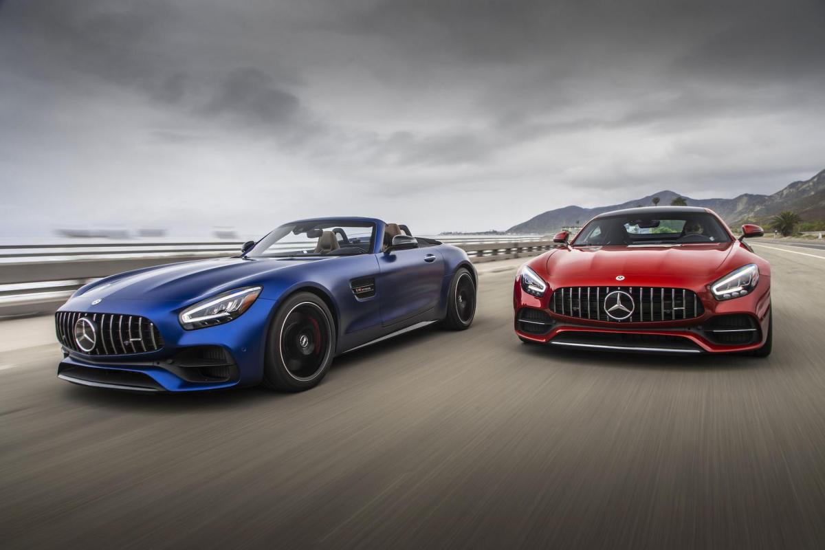 Mercedes-AMG GT станет полноприводным гибридом / фото Mercedes-Benz