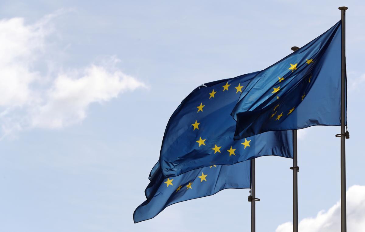 Украинцы поддерживают вступление в Евросоюз / REUTERS
