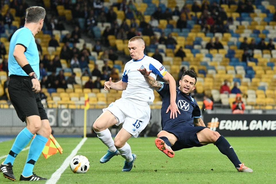 Только Динамо удалось принести очки в копилку Украины на этой неделе / фото: ФК Динамо Киев
