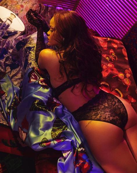 Ріанна з'явилася в якості моделі власного бренду / Instagram Ріанна