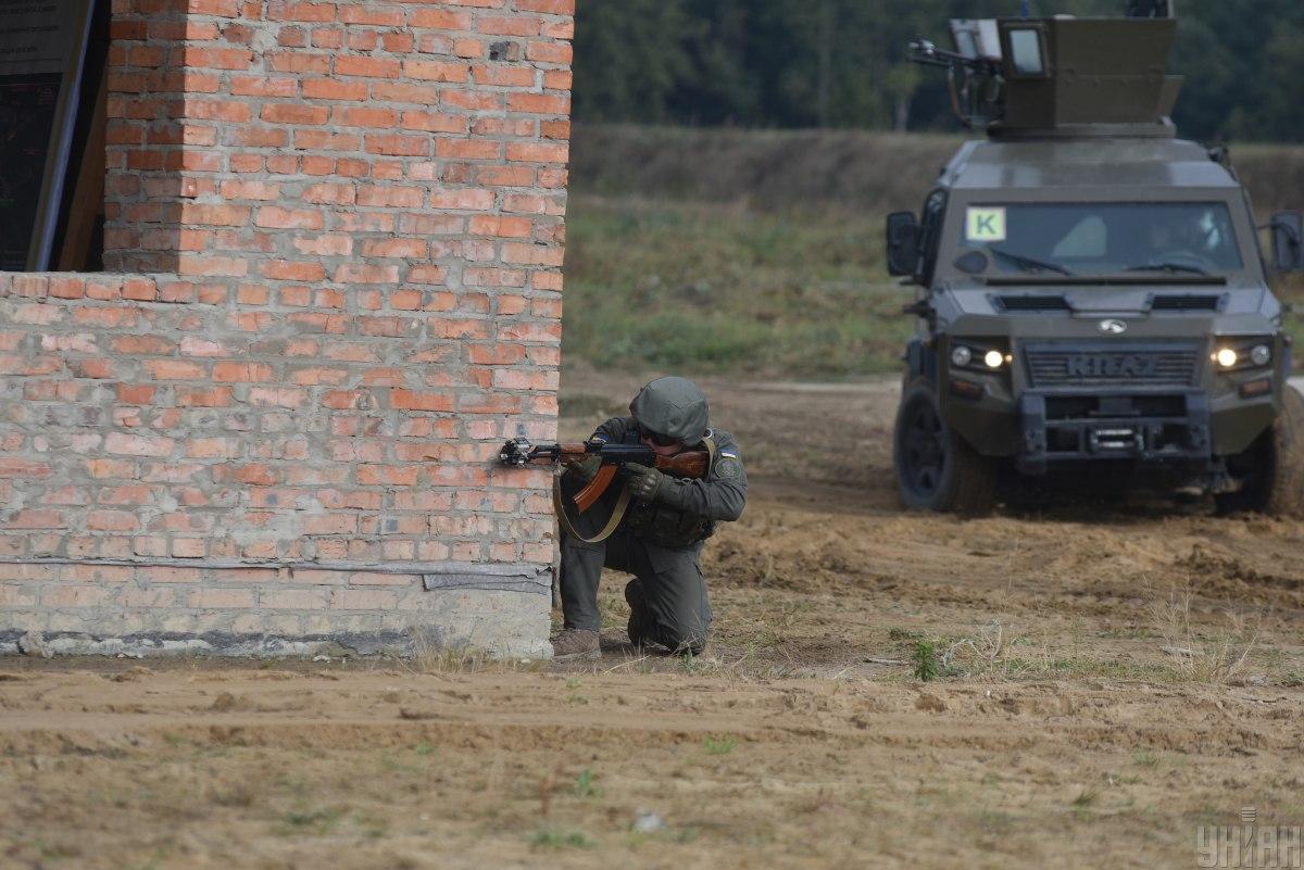 Во время выполнения задания важное место отводится противодиверсионными антитеррористическимдействиям / фото УНИАН
