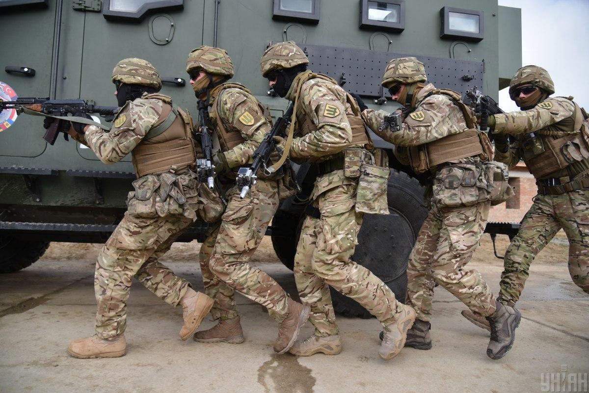 Целью учений было изучение подразделениями опыта ведения боевых действий по стандартам НАТО / фото УНИАН