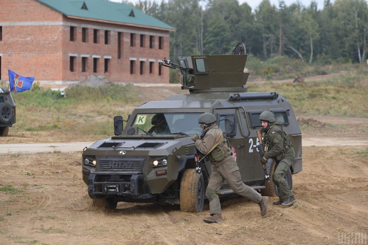 Військові навчання в Україні проводитимуть з березня по грудень 2021 року / фото УНІАН