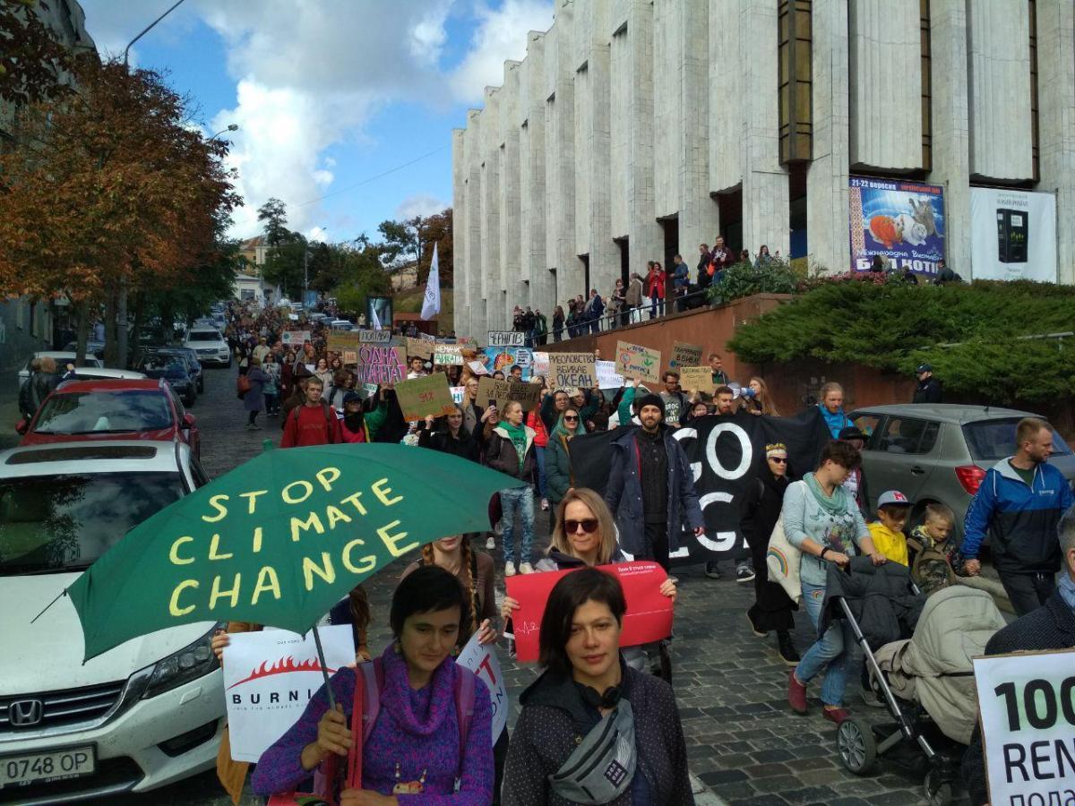В акции приняли участие более тысячи человек / фото УНИАН