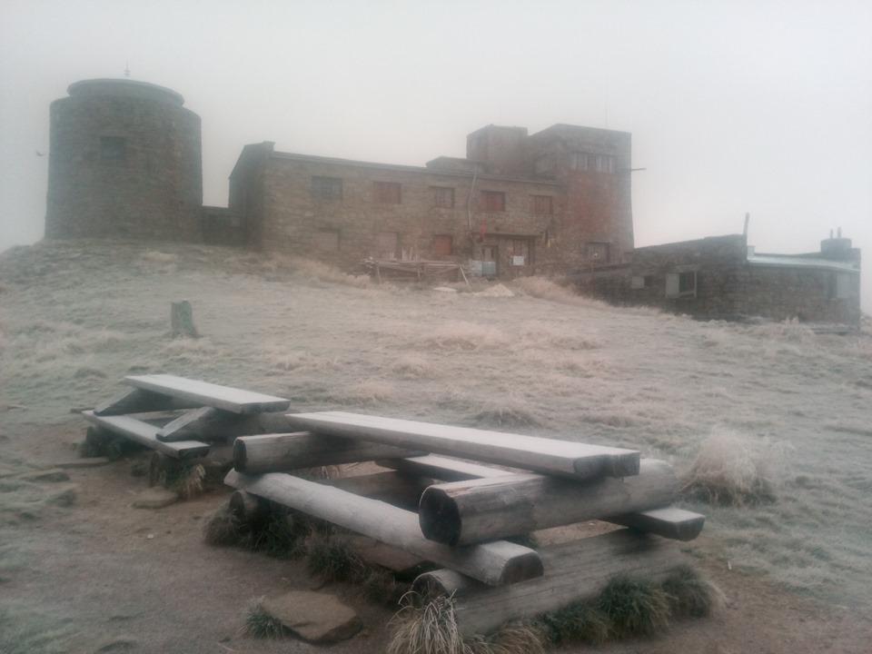 У Карпатах випав сніг / www.facebook.com/chornogora.rescue112