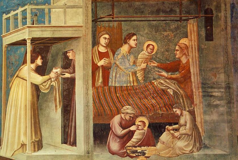 Матір Божа з'явилася на світ у родині Йоакима й Анни, які до 70 років не мали дітей