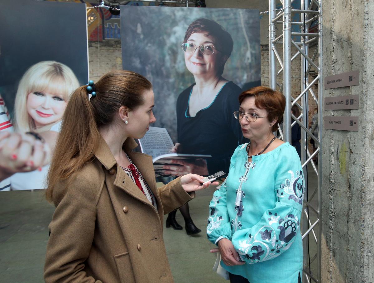 Соломія Зінчук впевнена, що після п'ятдесяти є чимало можливостей зробити життя яскравішим / фото УНІАН