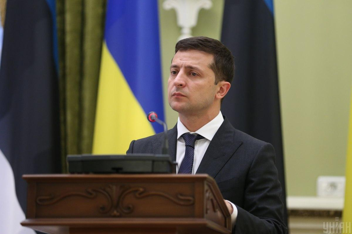 Президент України Володимир Зеленський/ фото УНІАН