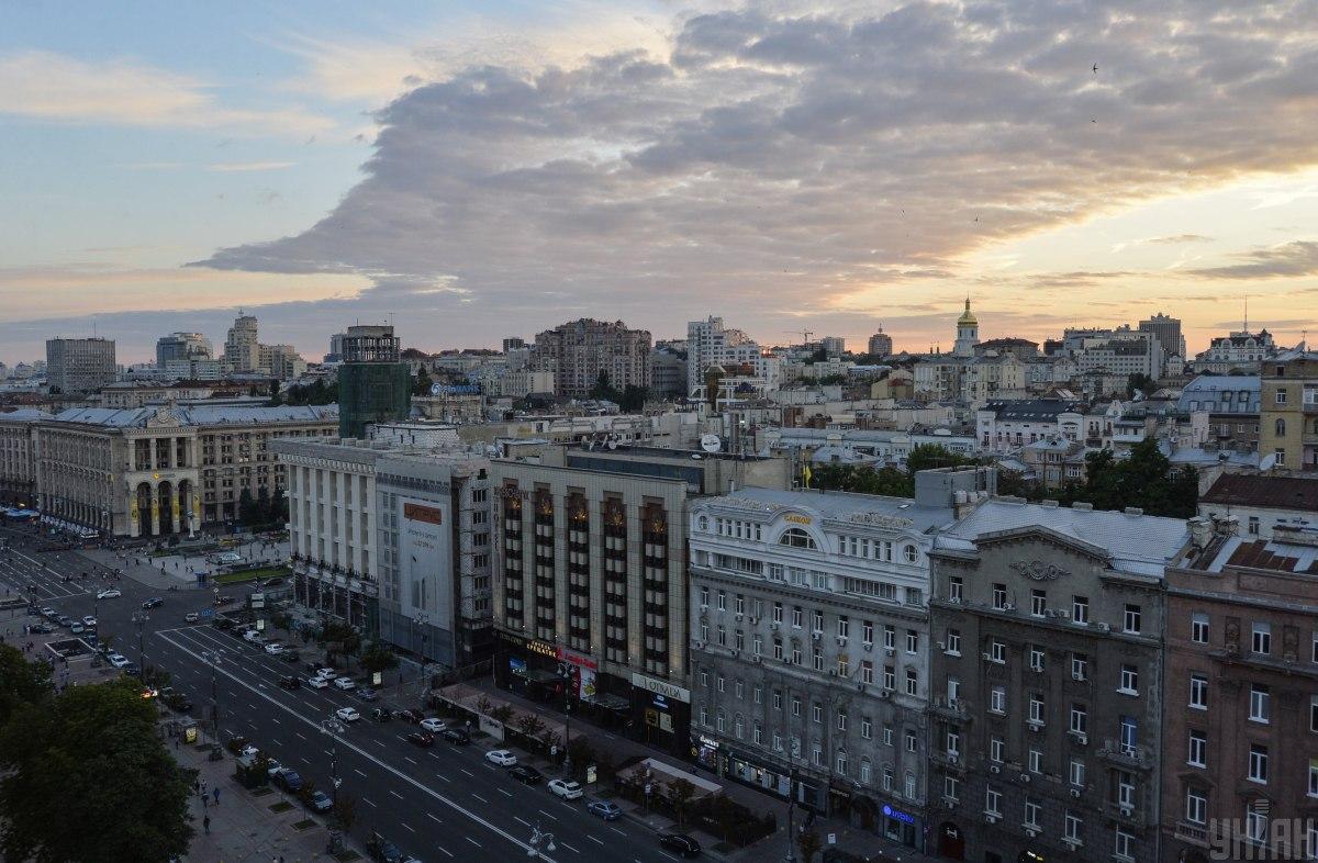 В Киеве на два дня перекрыли Крещатик / фото УНИАН