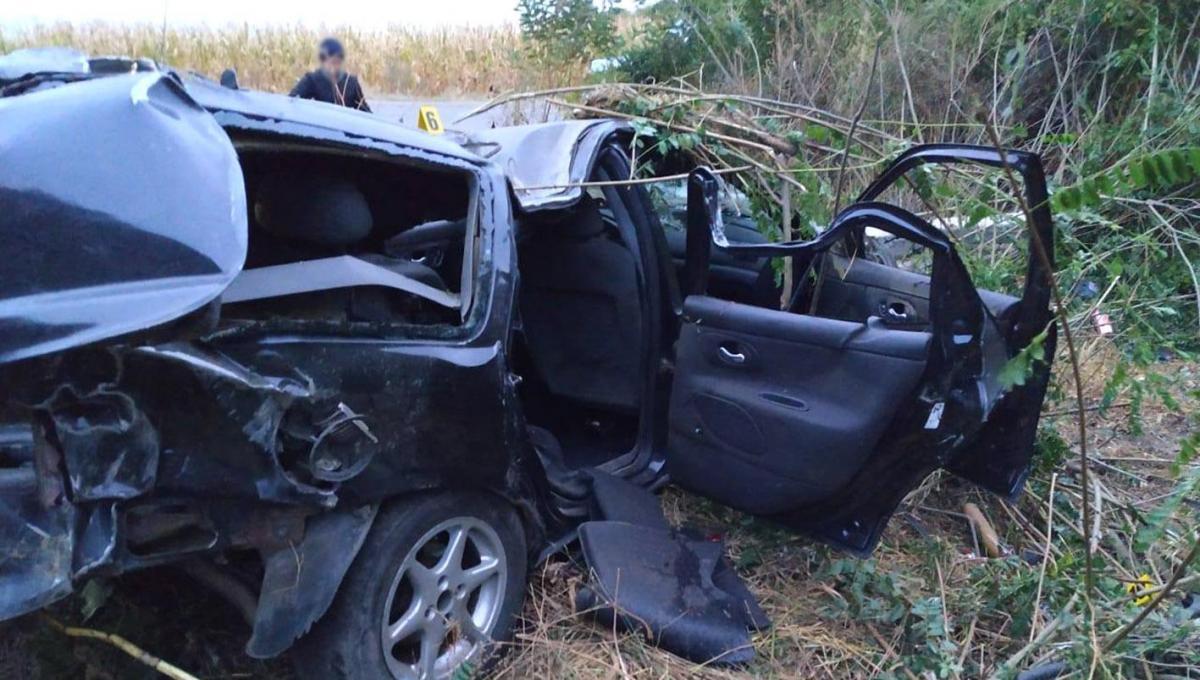 Внаслідок ДТП загинуло четверо пасажирів Ford Mondeo / фото: hm.npu.gov.ua