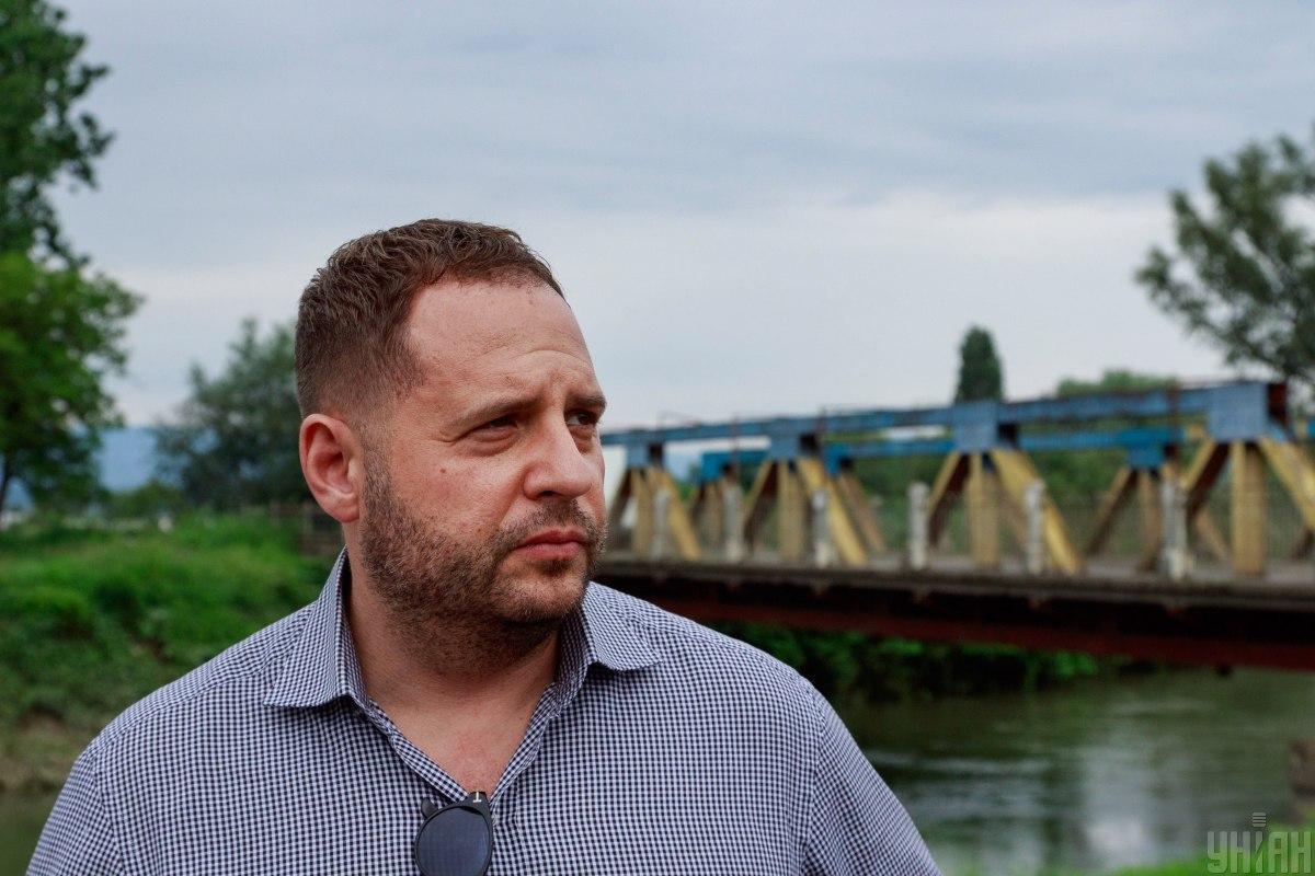 Помічник президента Володимира Зеленського Андрій Єрмак / фото УНІАН
