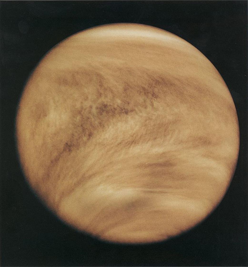 Венера - вторая планета от Солнца / фото NASA