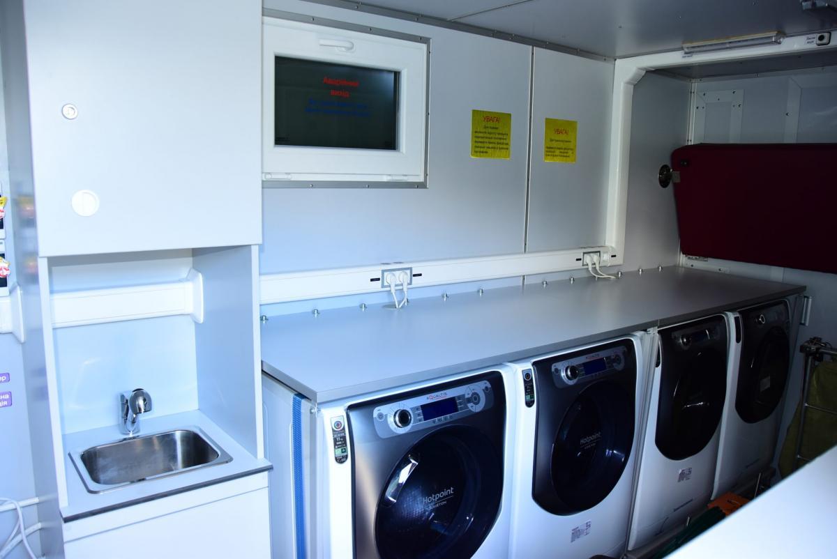 Військовізможуть висушити, попрасувати одяг і помитися / armyinform.com.ua