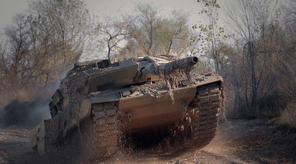 Украинский танк испытали с помощью пива / фото facebook.com/bobovnikov