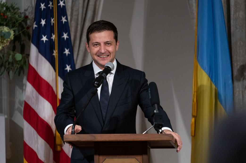 Zelensky marks his first anniversary in office / Photo from president.gov.ua