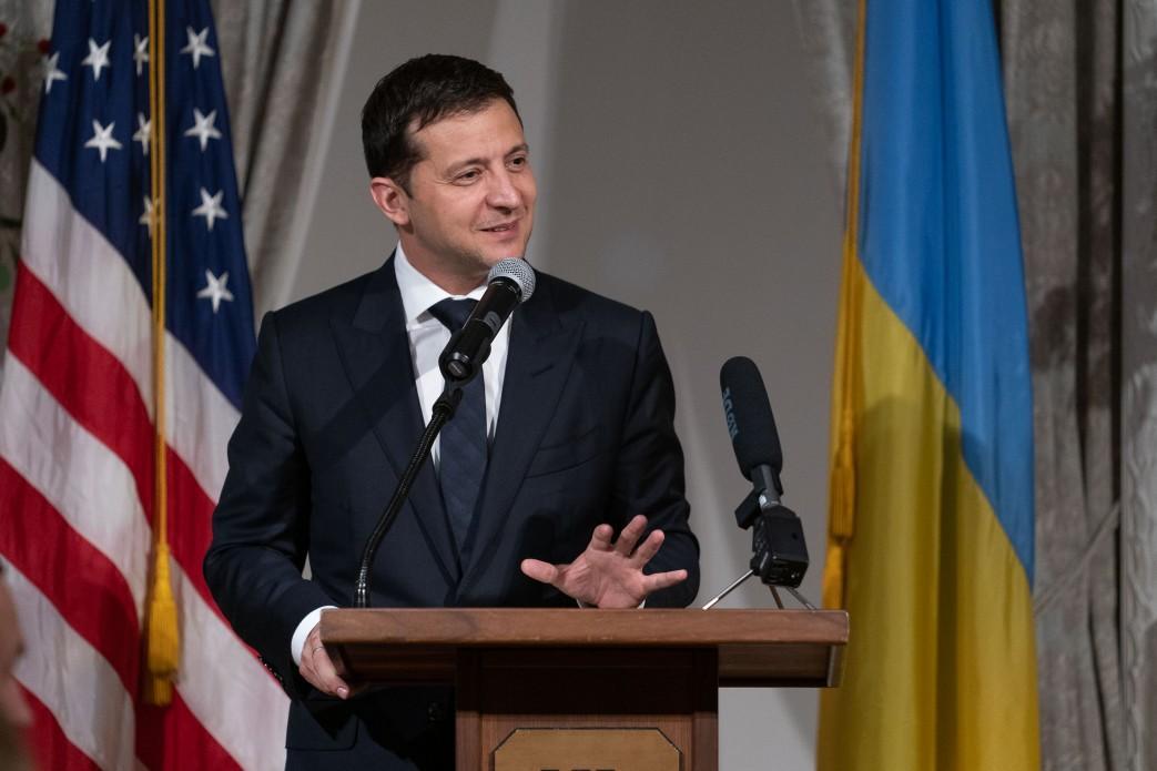 Зеленский находится с рабочим визитом в США / фото president.gov.ua