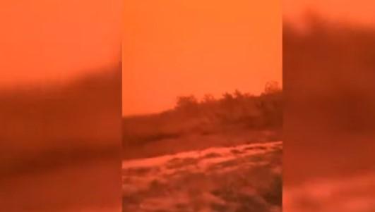 Кадры явления индонезийцы обнародовали в соцсетях / скриншот видео ТСН