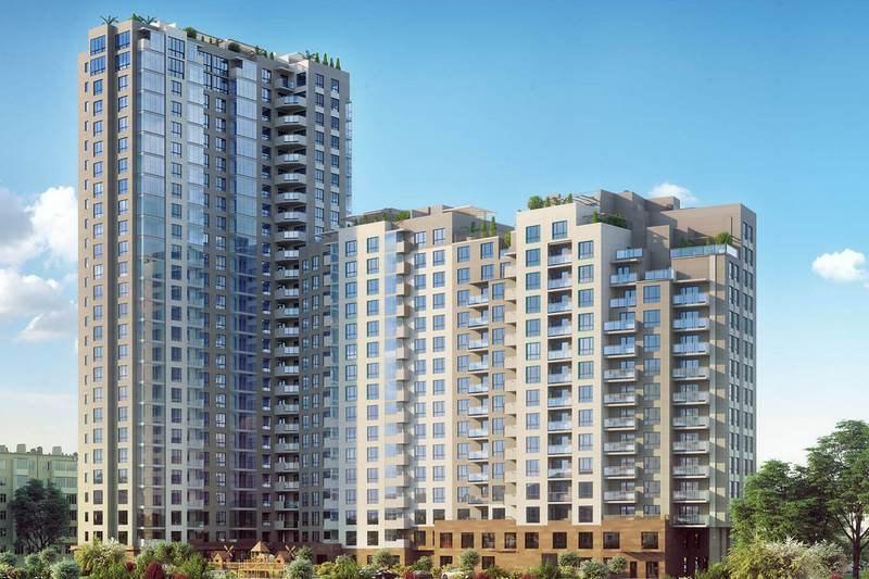 Окружной админсуд Киева разрешил построить 26-этажный дом в историческом ареале / фото jk-pokrova.com.ua