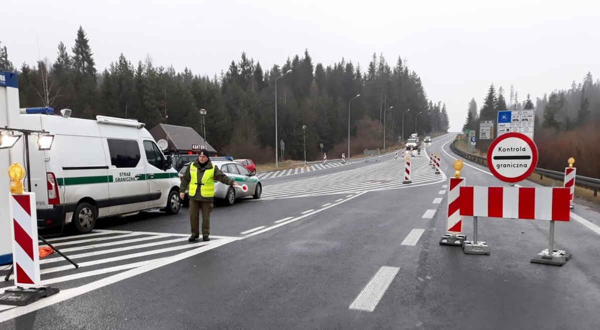 Черги на українсько-польського кордону значно скоротилися / фото twitter.com/straz_graniczna