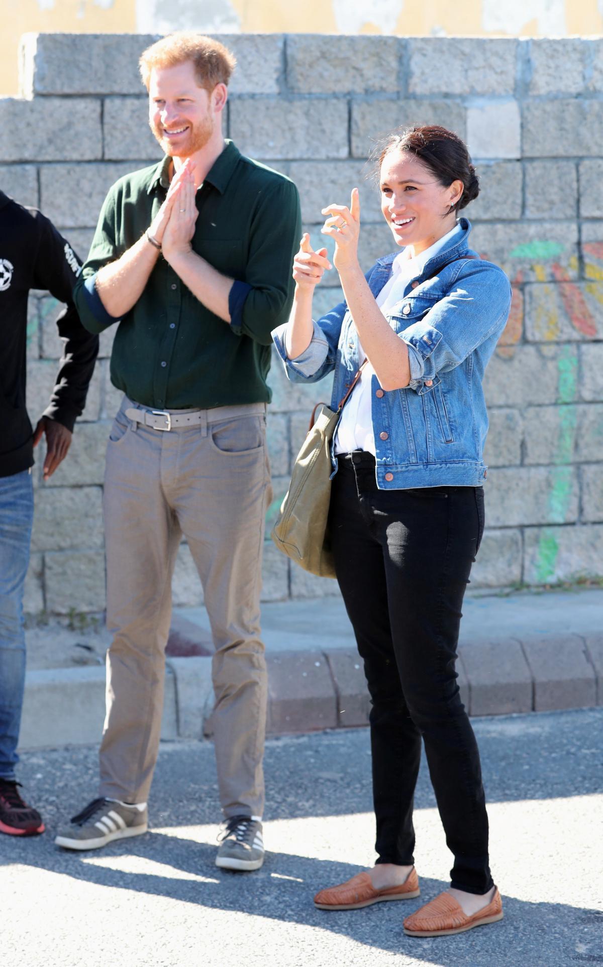 Принц Гарри и Меган Маркл / фото REUTERS